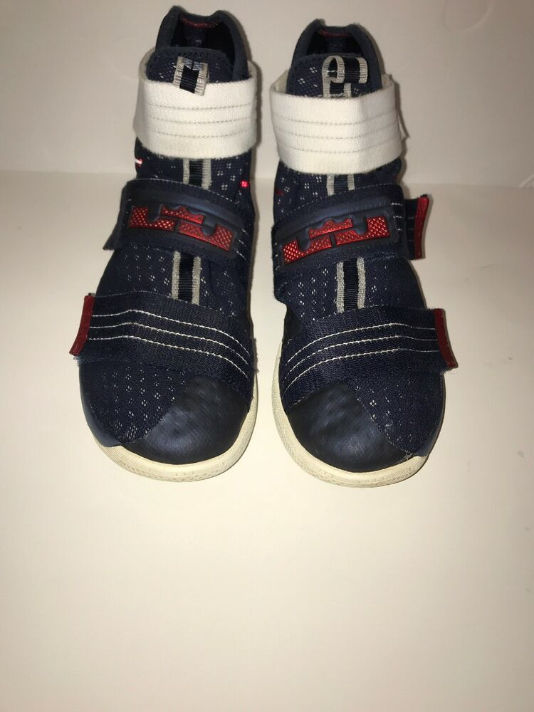 8a0fe4a109eac (Sponsored)eBay - Mens NIKE LEBRON SOLDIER X 10 SFG USA Olympics Basketball  Shoes