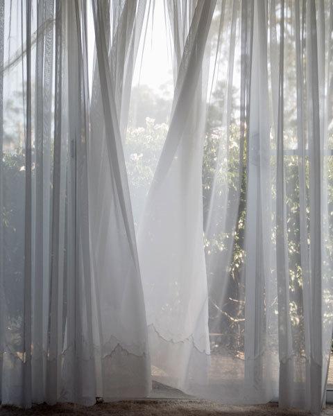 White Sheers Fotografi Estetika Kain