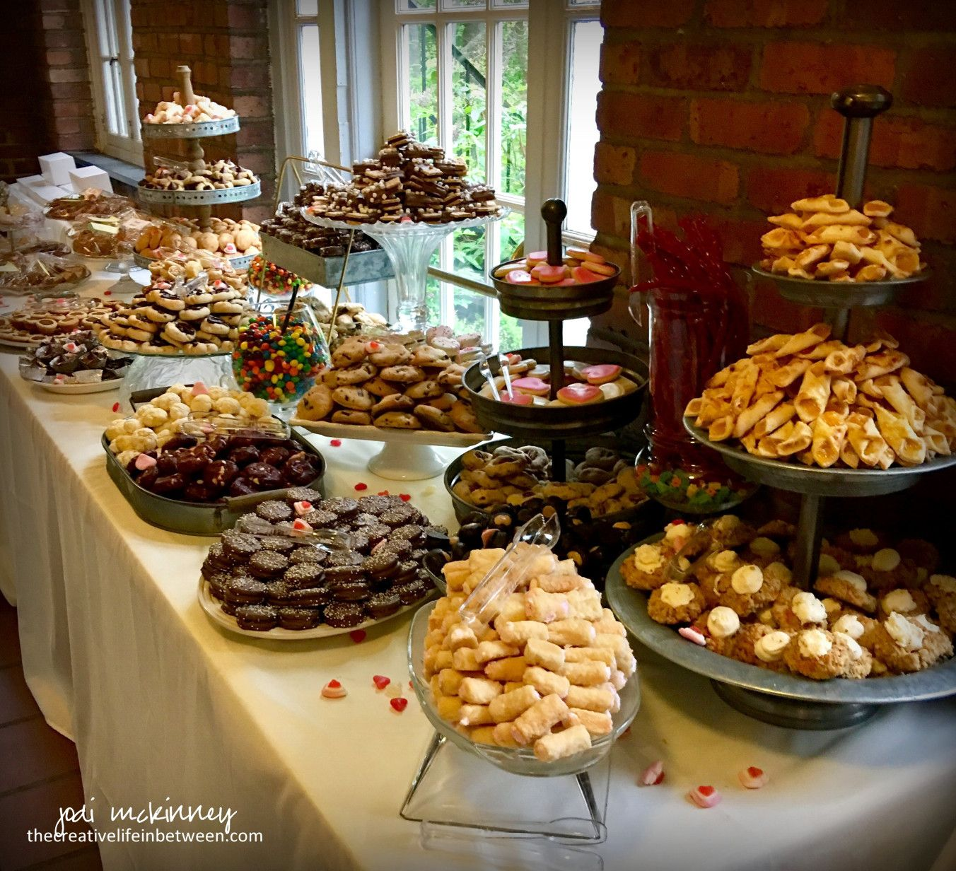 The Wedding Cookie Table - It\'s a Burgh Thing | Wedding | Pinterest ...