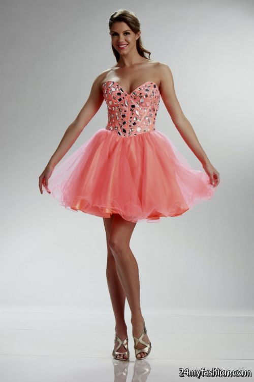 Cool Coral Short Formal Dresses Review Check More At Http