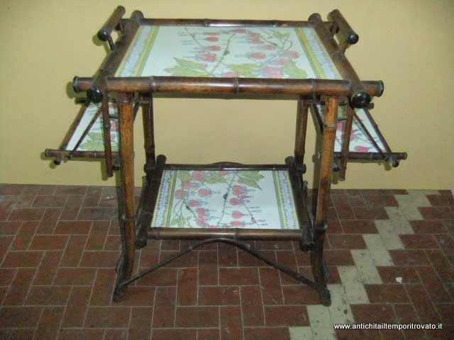 Tavolo Scacchiera ~ Mobili antichi mobili vari antico tavolino da colazione s.c.