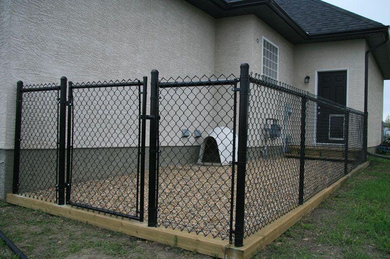 Image detail for -Dog Runs & Kennels | Black Dog | Pinterest | Dog ...