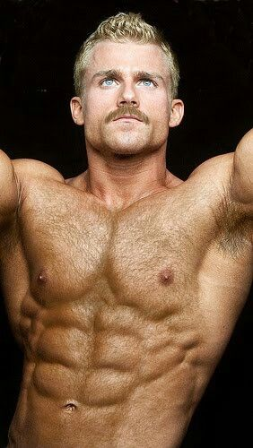 hairy men Hot blonde gay muscle