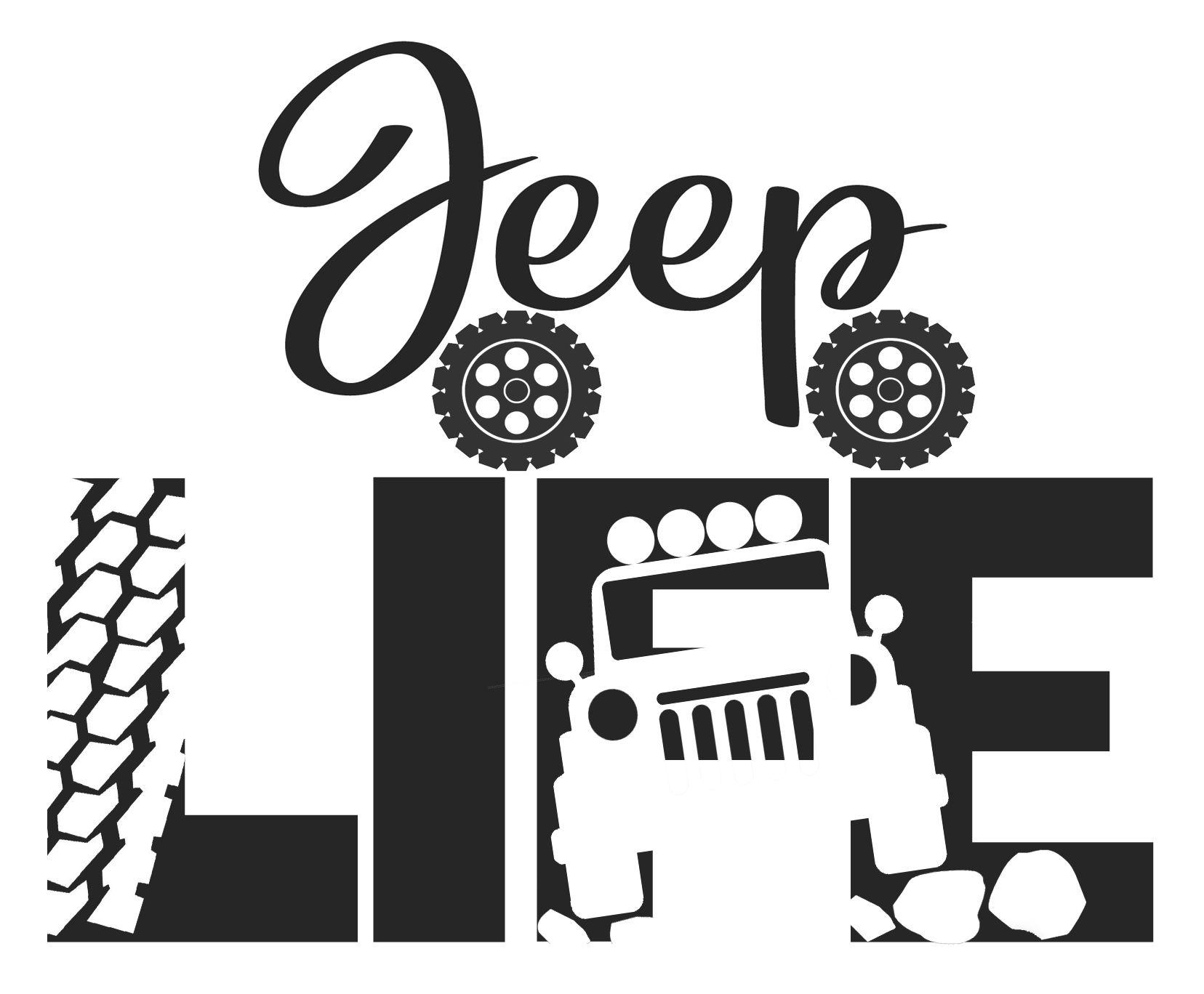 Free Jeep Life SVG File Cricut in 2020 Cricut svg