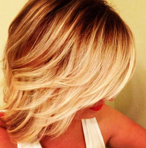 Short Ombre Hair Style