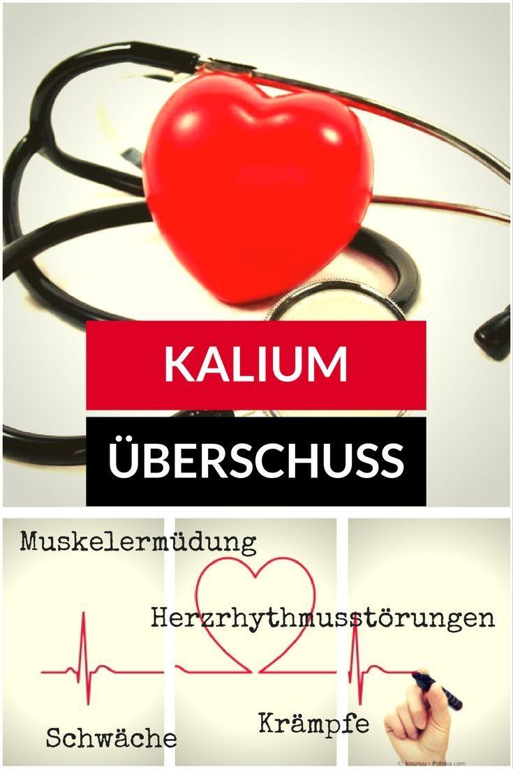Der Mensch benötigt Kalium, denn als Elektrolyt ist es für den ...