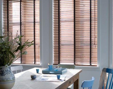 Zonwering voor in huis houten jaloezieen johwin limmen