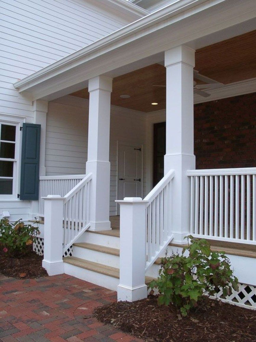 Unique Traditional Porch Ideas 06 Traditional Porch House With Porch House Exterior