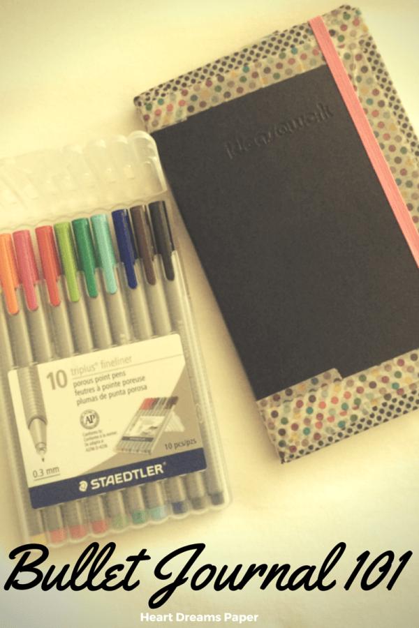 Bullet Journal 101, How to Bullet Journal, Bullet Journaling for Beginners