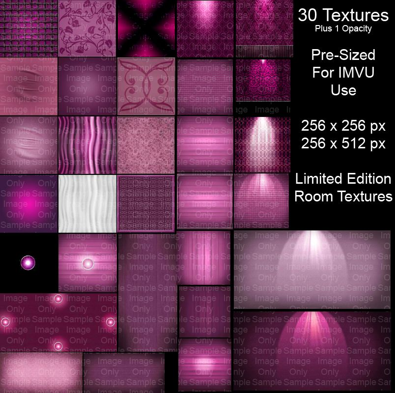 Pink Dream IMVU Room Textures LTD ED This is a limited