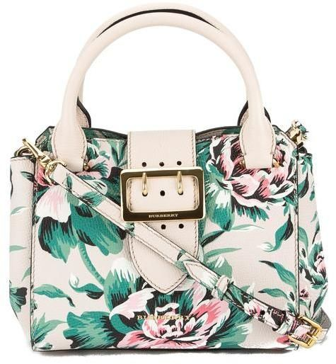 cb7d39e0c890 Burberry Leather Peony Rose Print Small Crossbody Bag (New with Tags ...