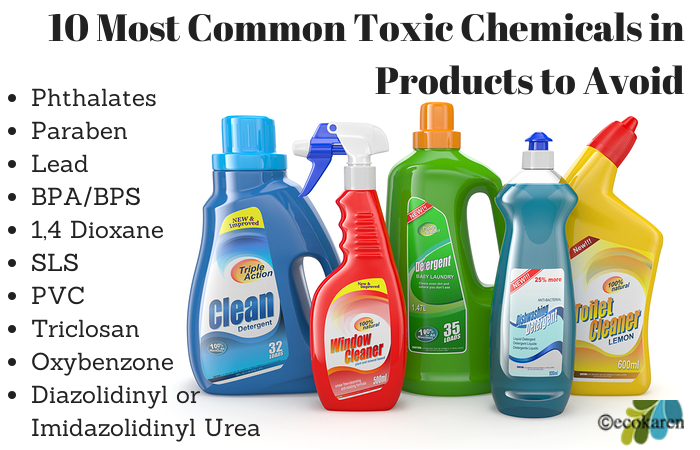 10 Common Toxic Chemicals To Avoid Toxic Chemicals Toxic Cleaning Products Toxic
