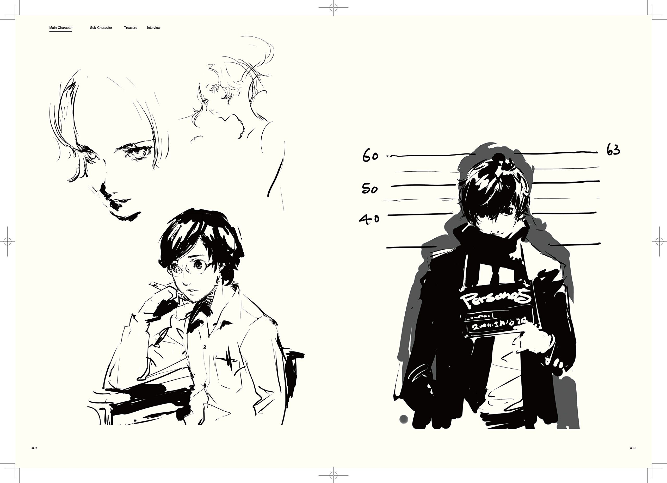 The Joker Line Art : The art of persona 5 styles and character design