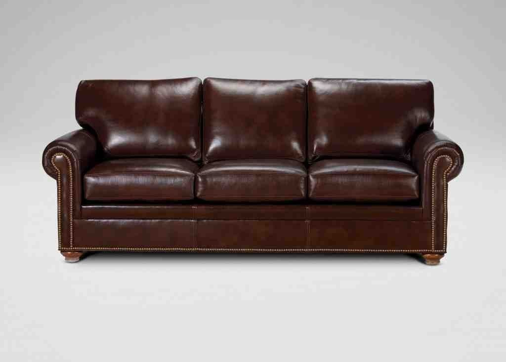 Captivating Ethan Allen Leather Sofa