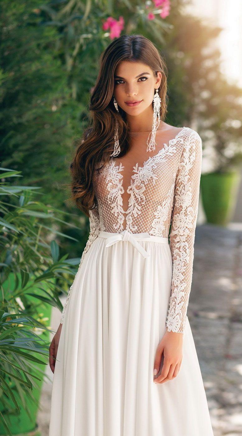 Wedding Dress Inspiration - sleeveless a-line wedding gown ,wedding dresses #weddinggowns #weddingdress