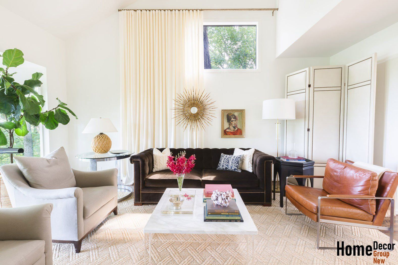 An Amazing Before and After Living Room Renovation | Architectural ...