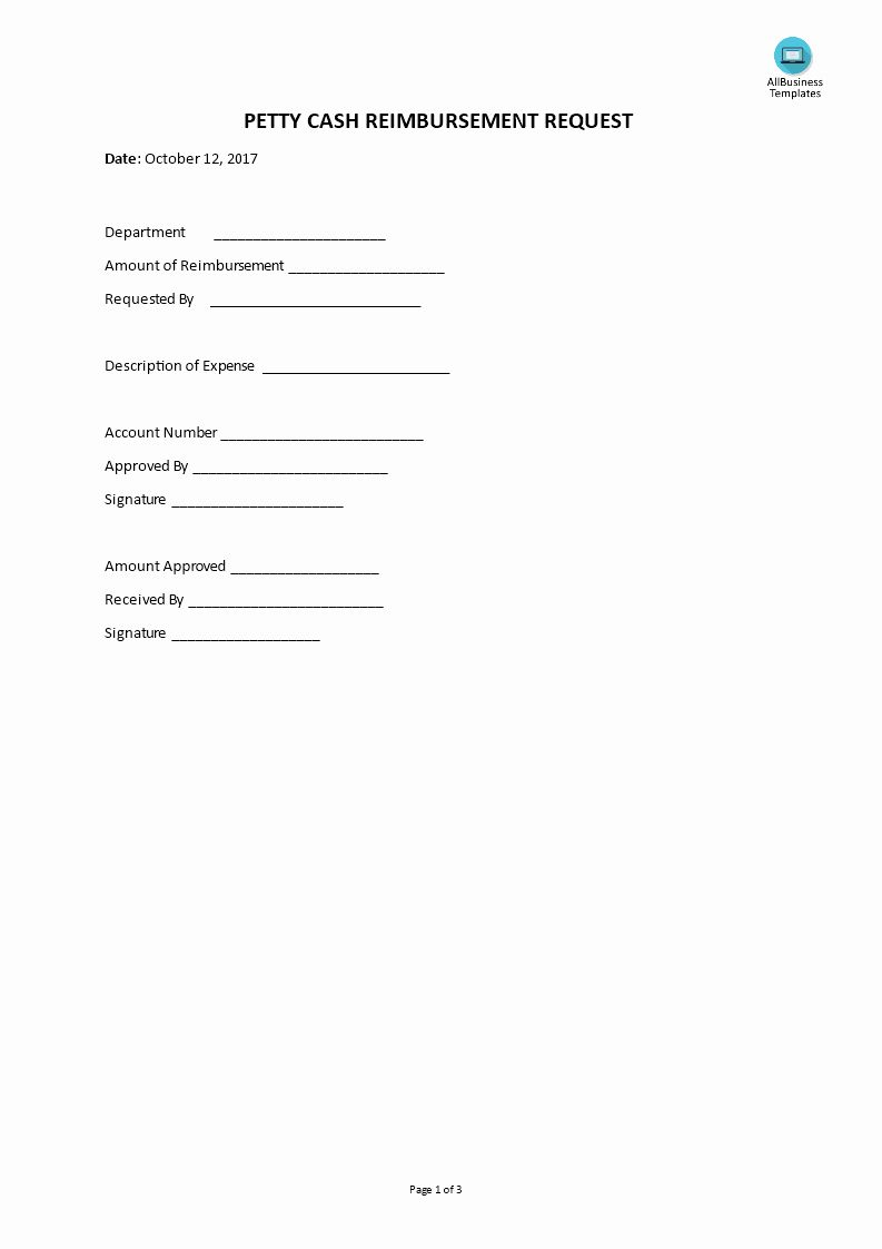 Petty Cash Request Form Template Lovely Petty Cash Reimbursement Request Sign Up Sheets Sign In Sheet Template Templates