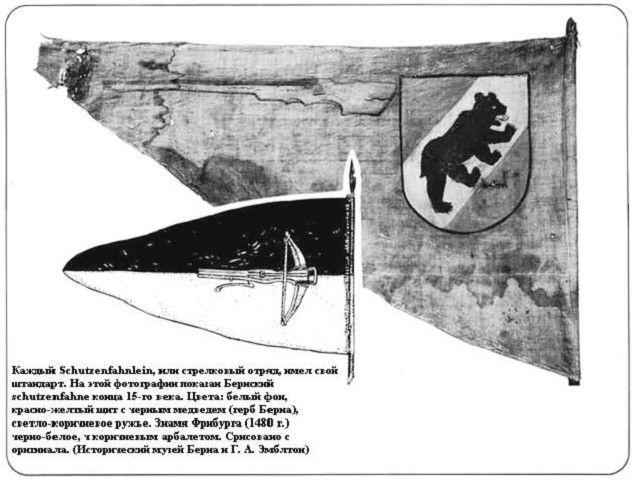 medieval bern banner schutzenfahne