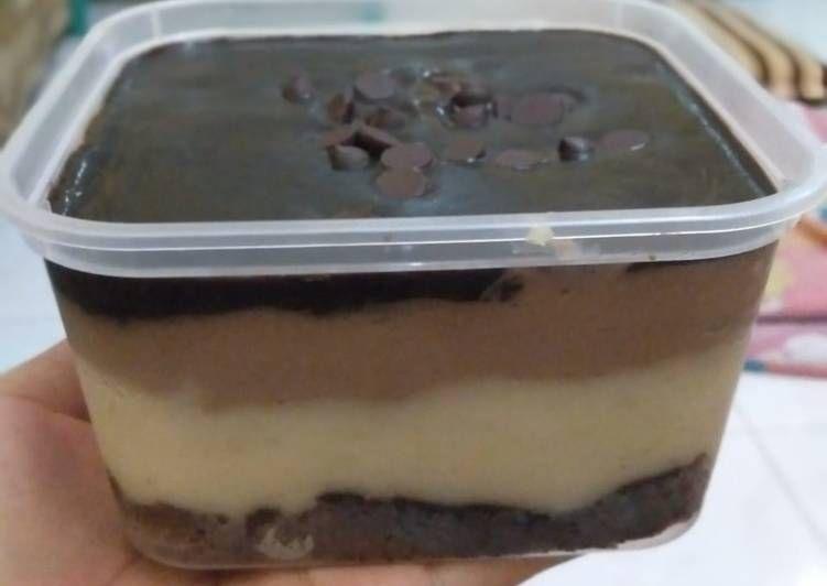 Resep Durian Dessert Box Oleh Resty Etty Resep Makanan Makanan Dan Minuman Ide Makanan