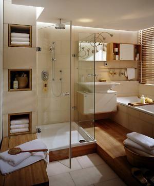 VorherNachher Neue Raumaufteilung frs Badezimmer