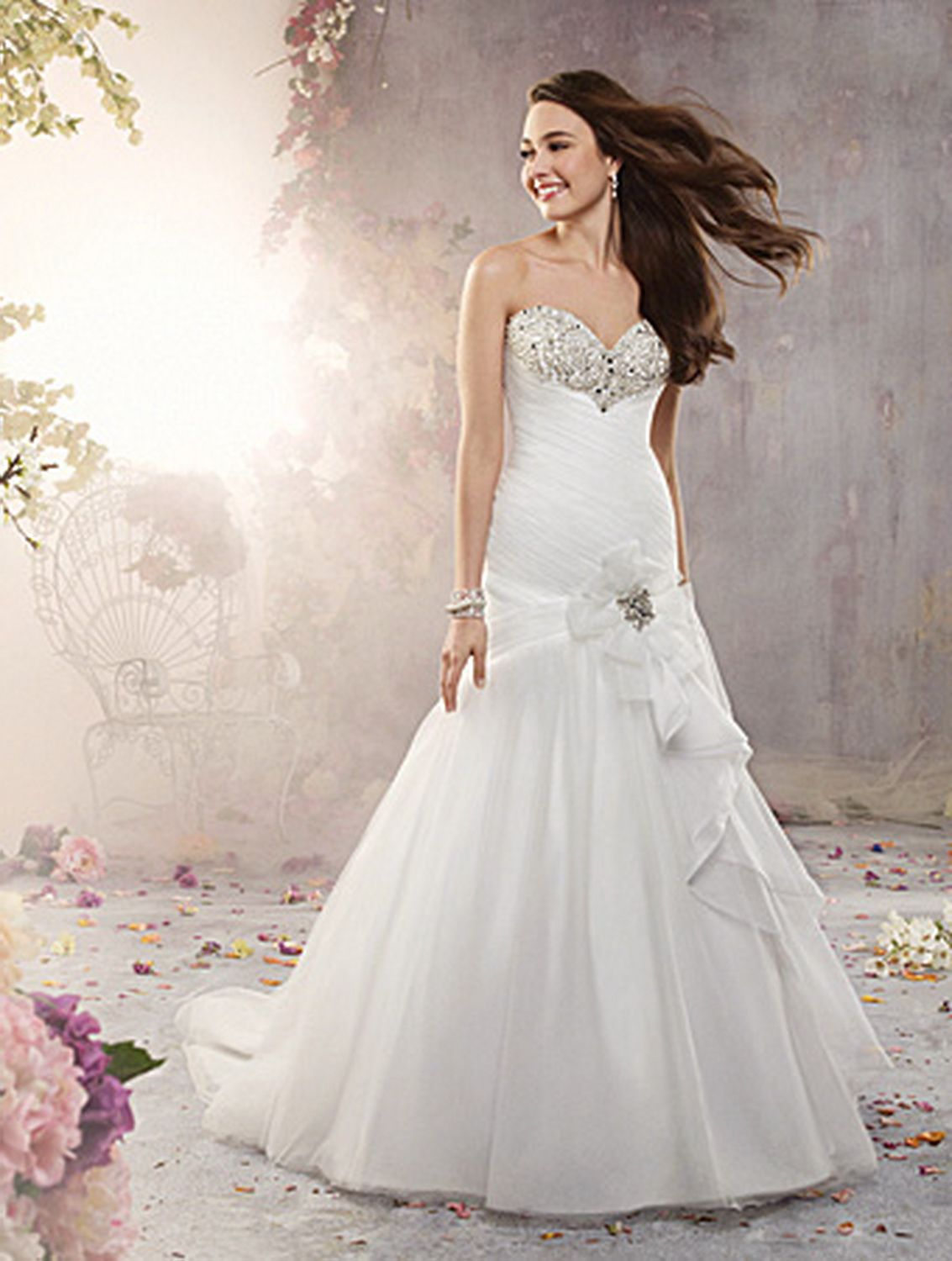 Alfred Angelo Bridal Gown Style - 2377 | Wedding | Pinterest ...