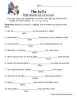 suffix worksheet ing common core english suffixes worksheets spelling worksheets have fun. Black Bedroom Furniture Sets. Home Design Ideas