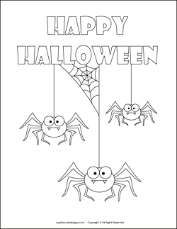 Amazing Free Halloween Coloring Pages   Spider Coloring Sheets   Halloween Spider  Coloring Pages. Images