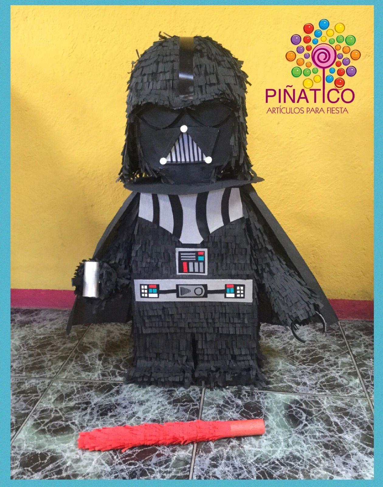 PIÑATA 3D.... DARTH VADER   Para marquito   Pinterest   Piñatas ...