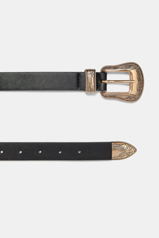 4cf70b05ae Engraved double buckle belt in 2019   Accessories   Belt, Belt ...