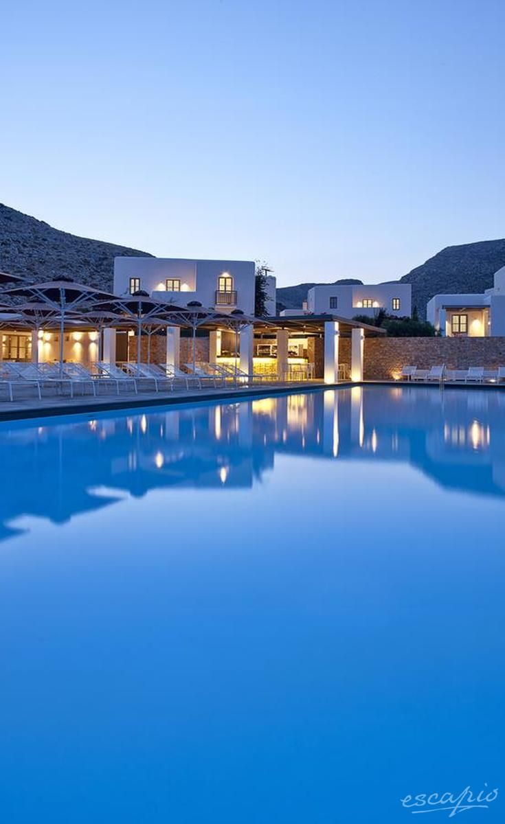 Anemi Hotel Folegandros Greece Paradise Pools In 2019 Design