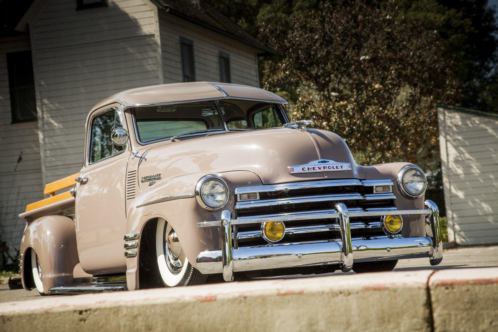 A modernized bomb style chevy classic trucks