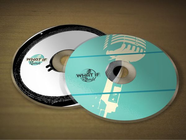 What If Records Identity on Behance