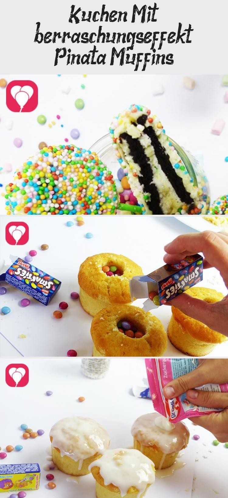 Photo of Kuchen mit Überraschungseffekt: Pinata Muffins – balloonas #PinataKuchenBirthda…