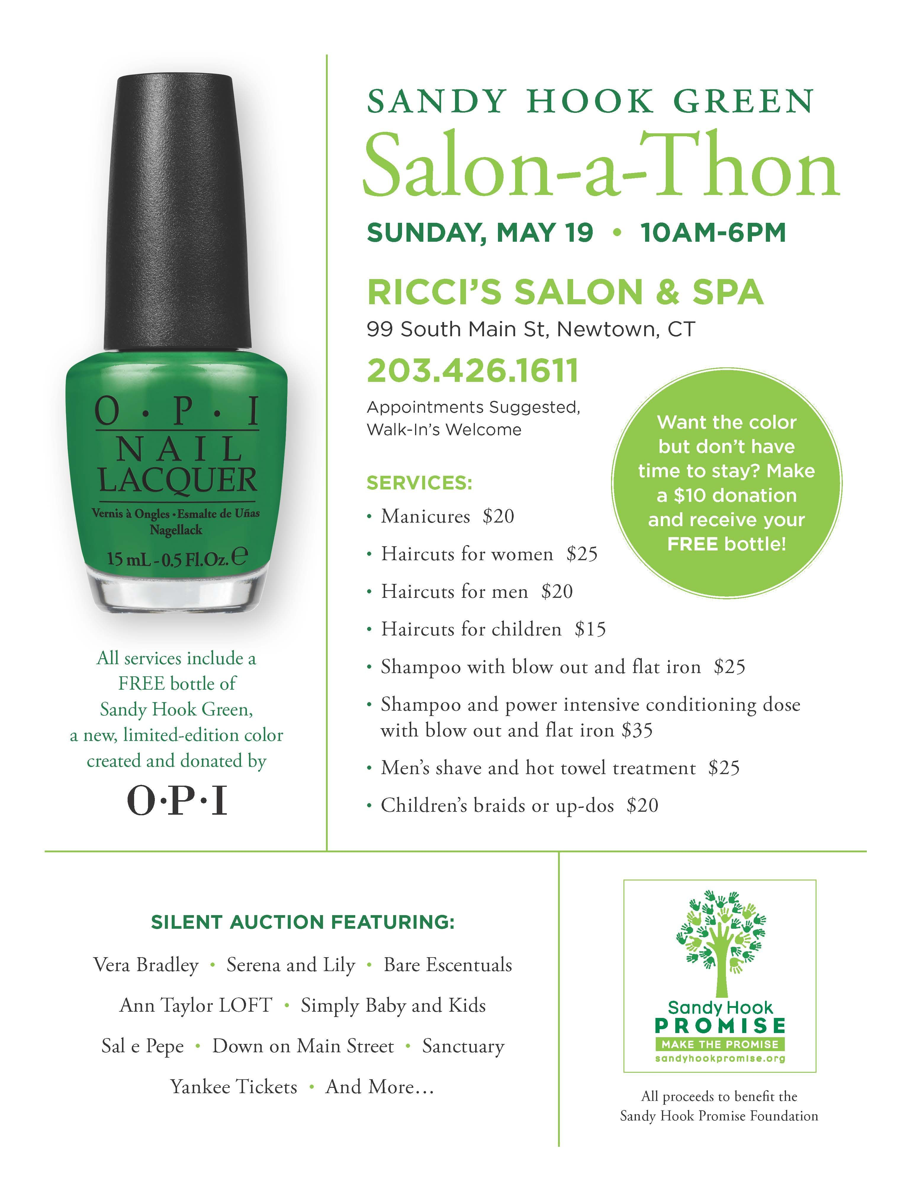 Mens haircut newtown save the date may  is the sandy hook green salonathon