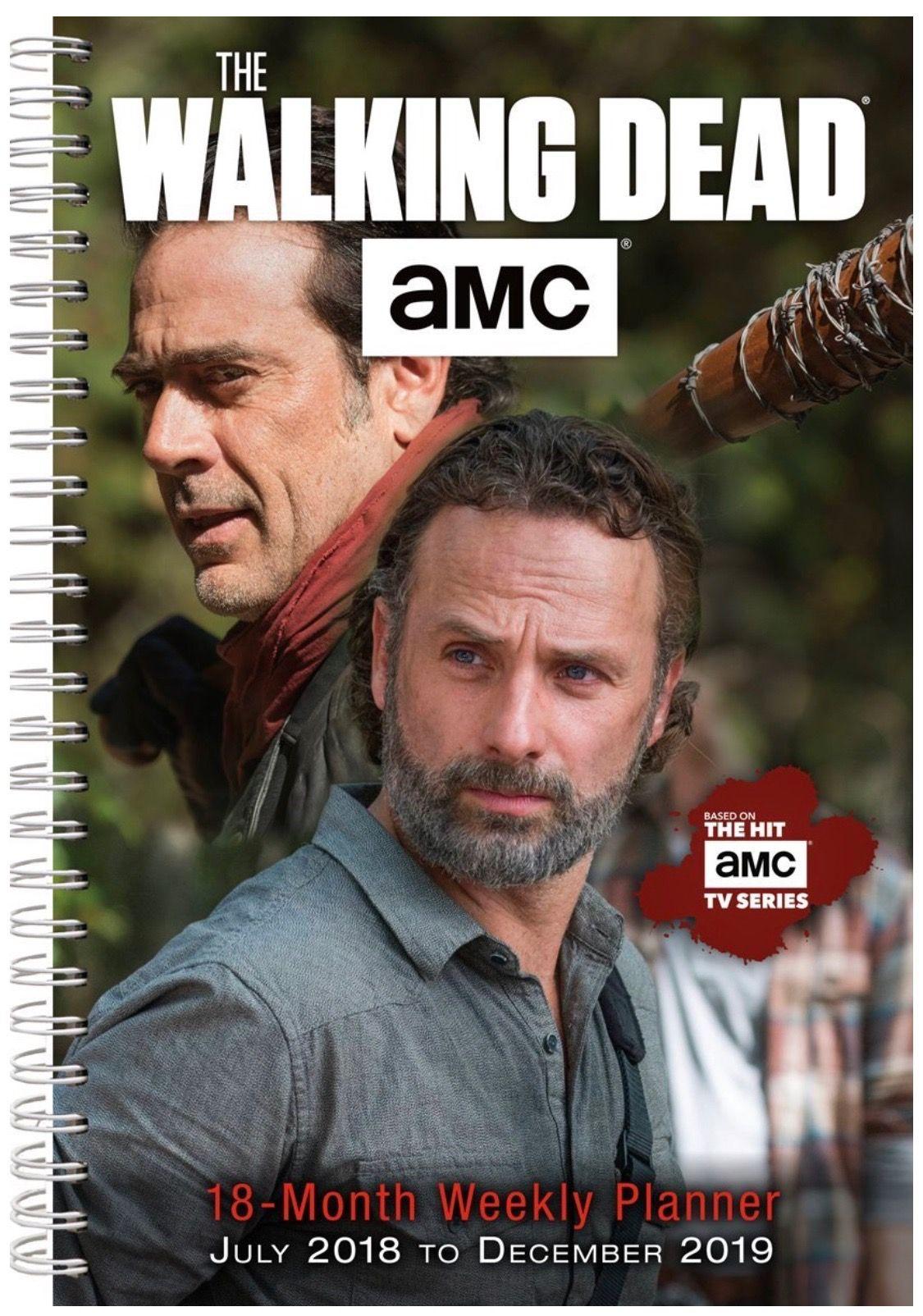 The Walking Dead 2019 Weekly Planner The Walking Dead The Walking Dead Merchandise Amc