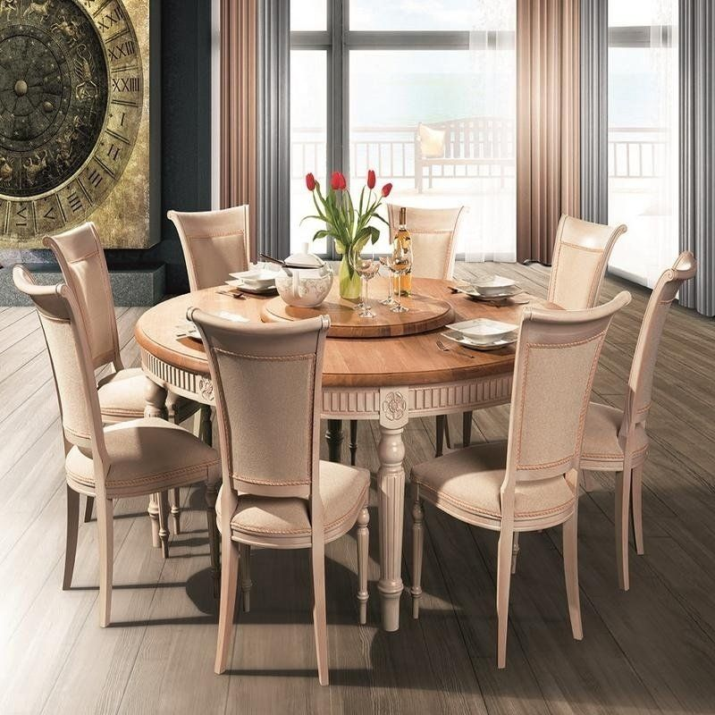 Our Best Dining Room Bar Furniture Deals Round Wood Dining Table Solid Wood Dining Set Solid Wood Dining Table Solid wood round dining table