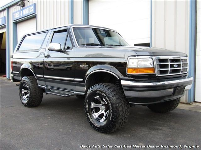 1992 Ford Bronco Xlt Obs 4x4 Lifted Classic With Images Ford