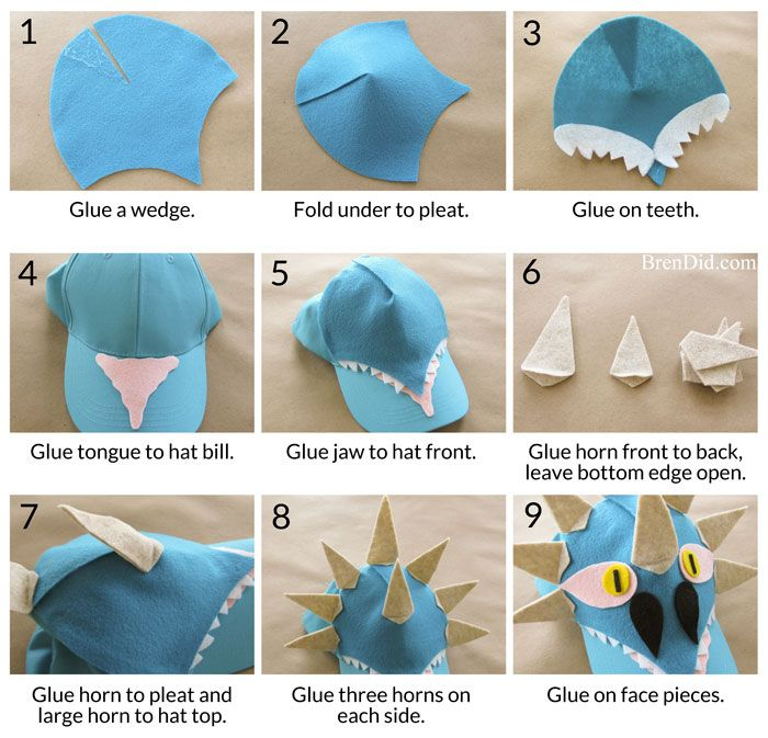 How to Train Your Dragon Easy Baseball Hat DIY with Printable ...