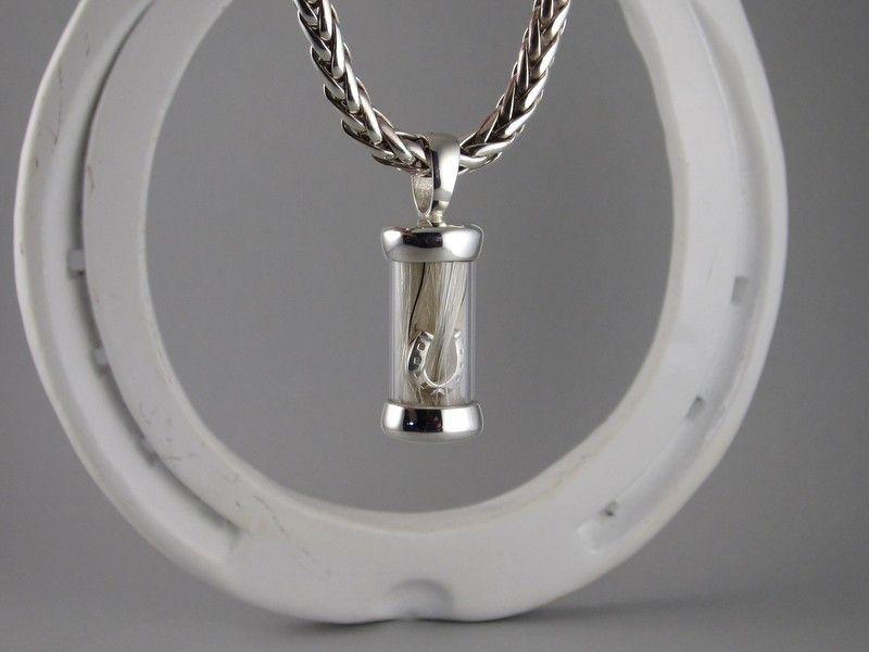 braided pendant silver horse pendant 9ct gold horse pendant,horse jewellery Custom horse pendant,horsehair pendant horse pendant