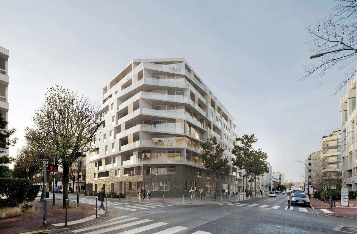 Mfr Architectes Projets Chasse Croise 480 Logements Dont 24