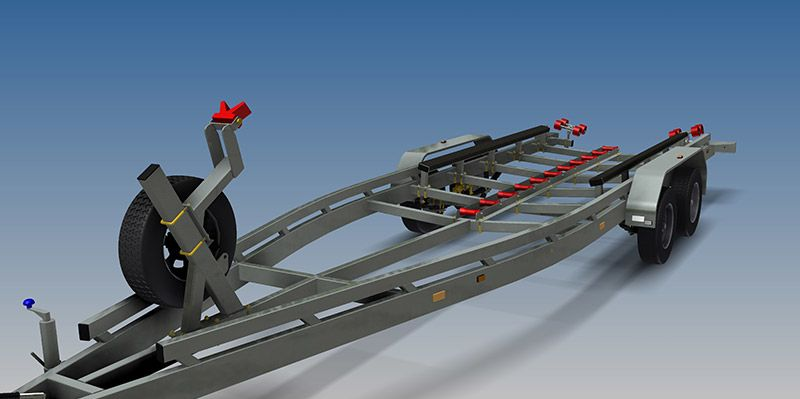 Boat Trailer Plans - Trailer plans, designs and drawings - Build ...