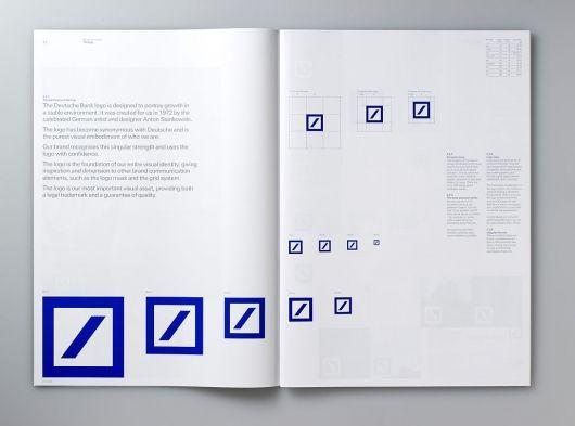 размеры логотипа Guidelines / Deutsche Bank - Studio 2br
