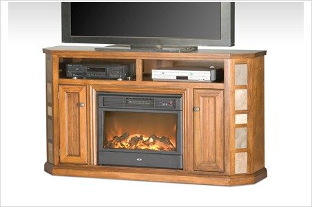 Eagle Furniture 64 Quot Wide Tv Stand With Electric Fireplace