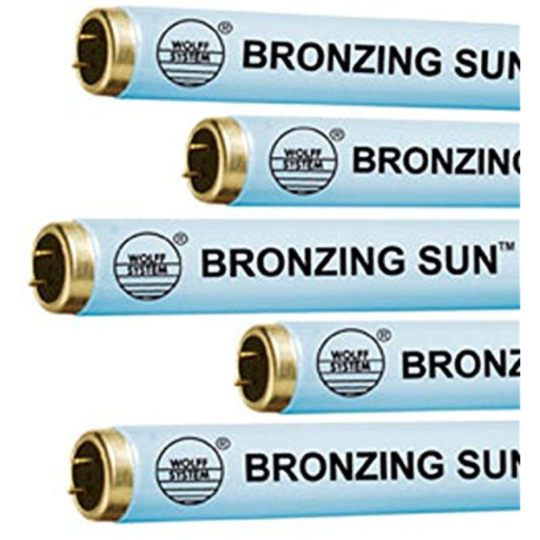 Wolff Bronzing Sun Plus F71 100W Bi Pin Tanning Lamp (16