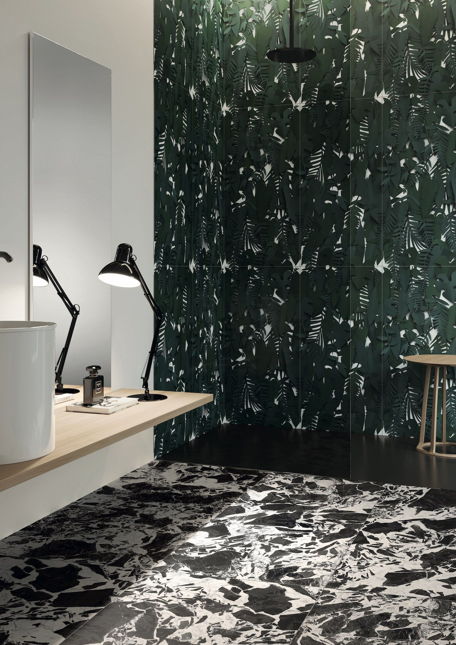 Paper41 Pro Midori 50x100cm Another Wow Feature Wall Tile That
