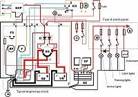 Pin by Ken Dudley on boat Boat wiring, Diagram, Boat design