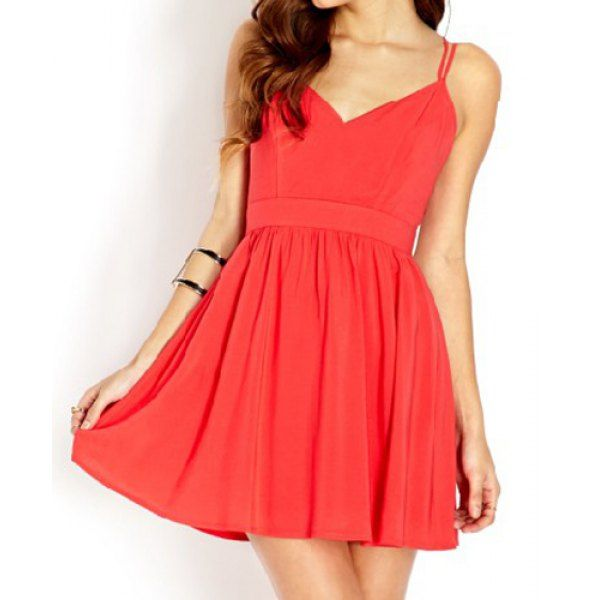 #sexy #ladylike #fashion #dress #dresses #red #party #summer #lovely #woman #chic