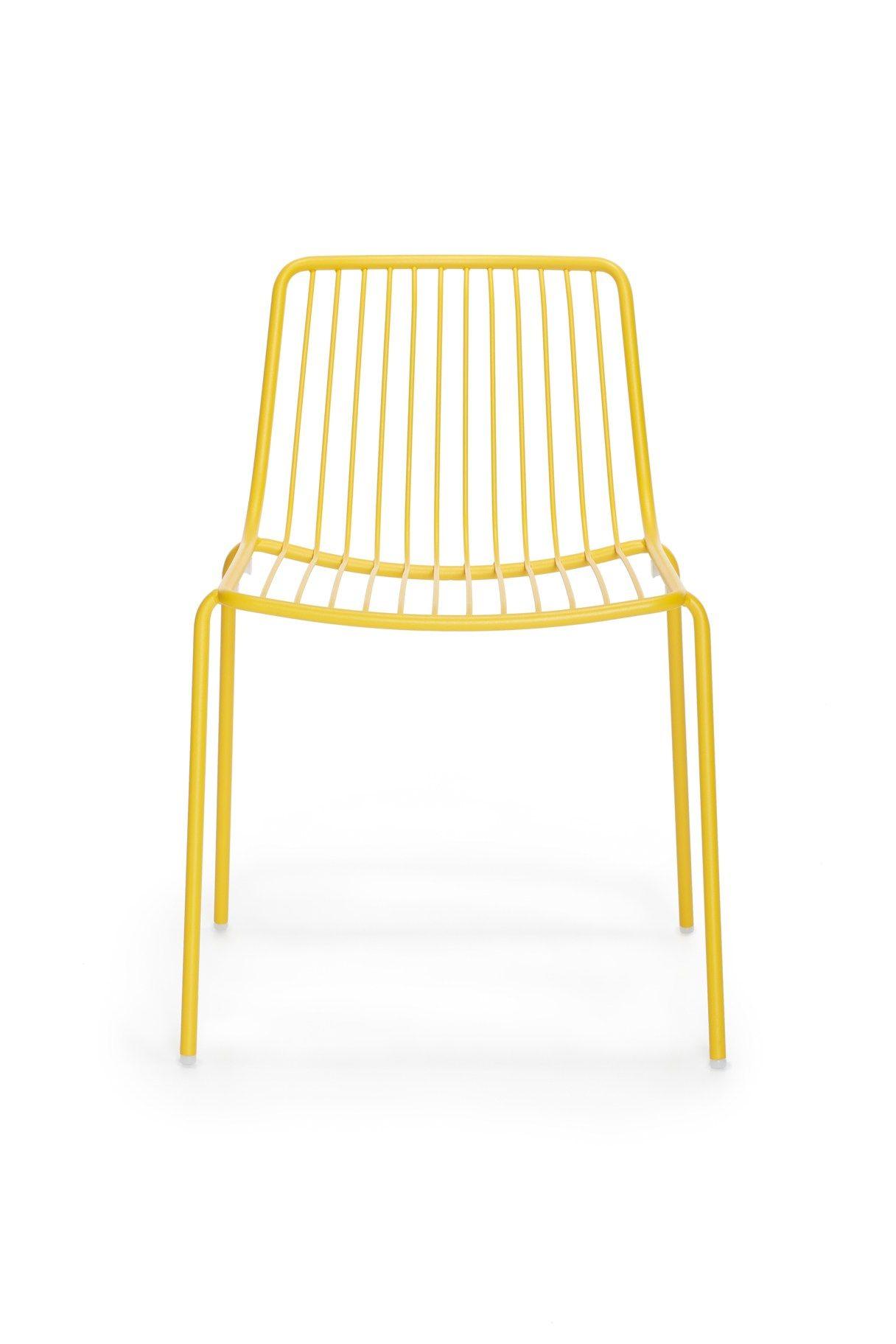 Metal #garden #chair Nolita 3650   PEDRALI #yellow