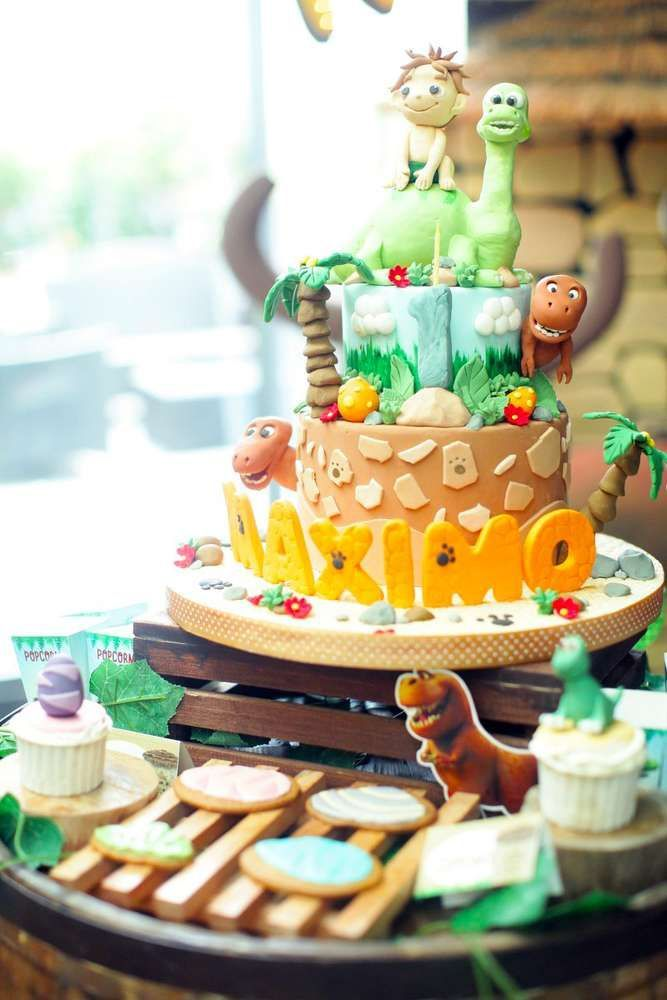 Dinosaurs Birthday Party Ideas Dinosaur birthday cakes Dinosaur