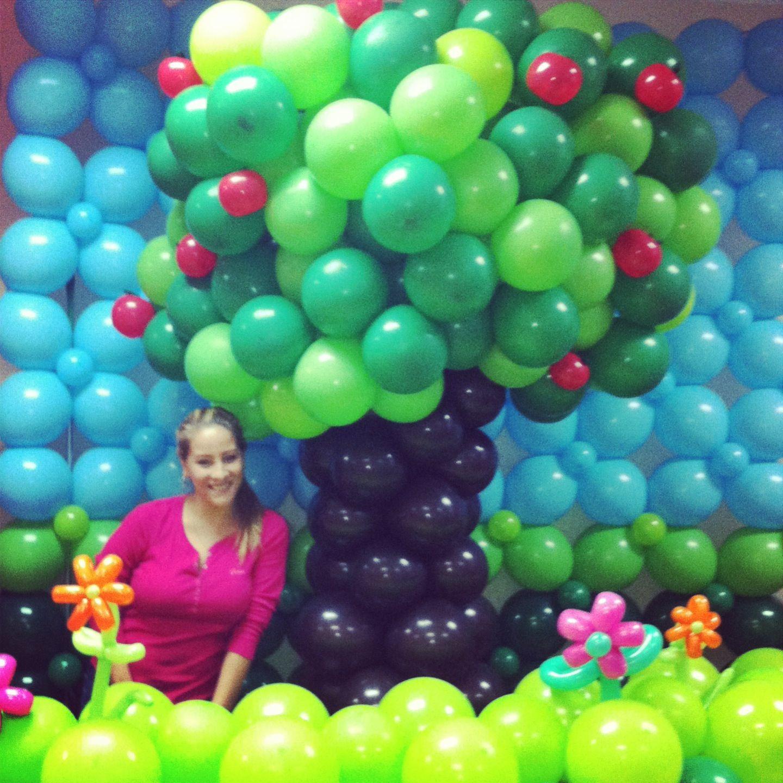 Jard n escenario para fiestas infantiles tema for Decoracion fiesta jardin